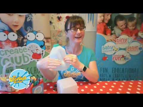 How to Make An Easter Egg Basket From A Recycled Milk Bottle Container