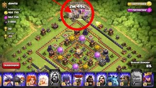 only golem attack in th 11 for 3 star,epic attack