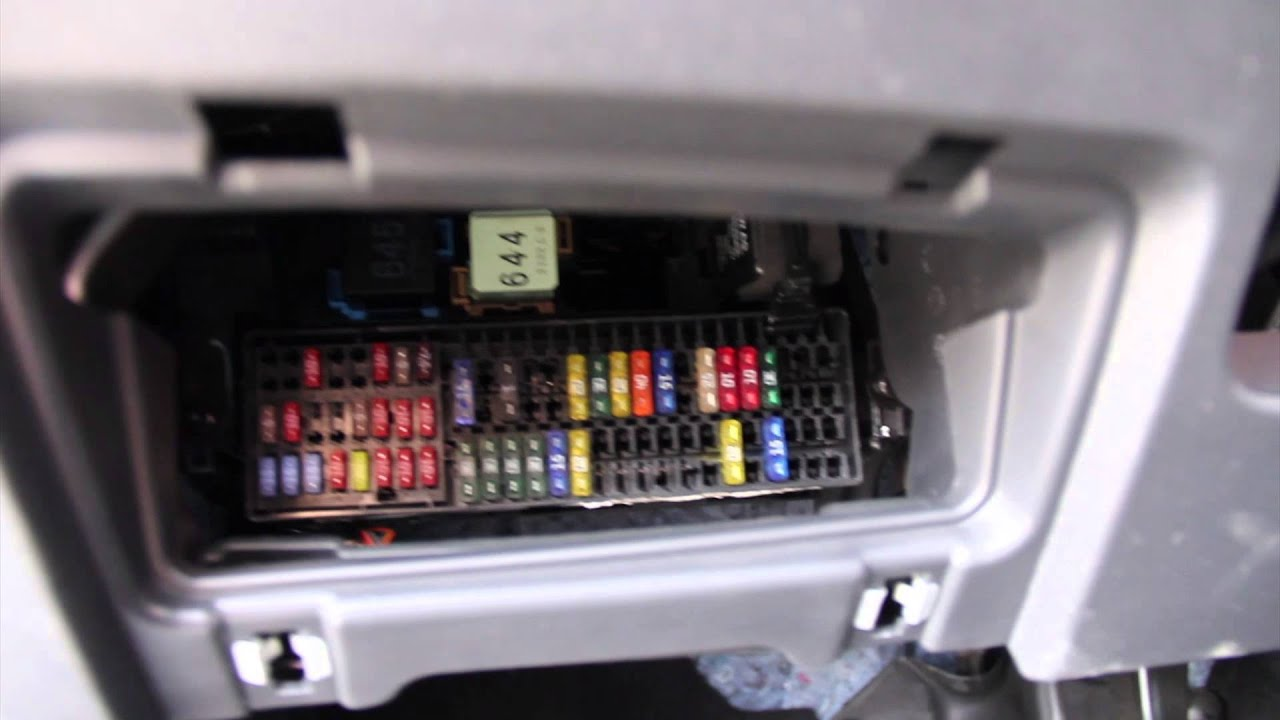 Volkswagen Jetta 2012 Fuse box location - YouTube