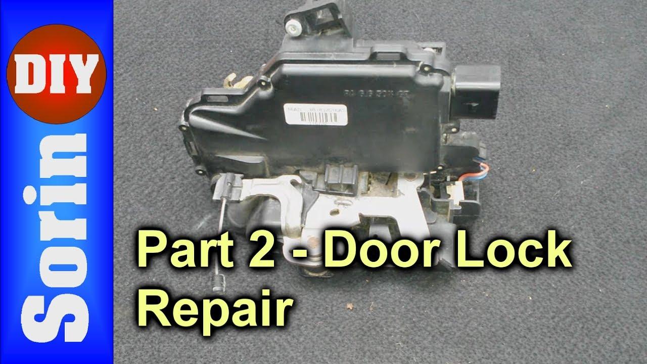 Door Lock Module Repair Seat Leon 1m Toledo 2 Part 2