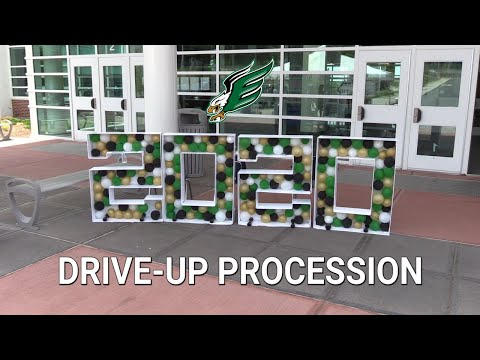 2020 Enfield High School Drive-Up Procession