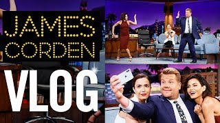 LATE LATE SHOW VLOG | With James Corden | Jenna Dewan