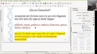 Dialoghi su Zamenhof 15/12/2020