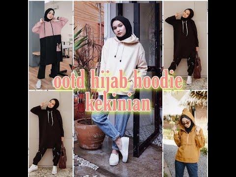 Ootd Hijab Hoodie Kekinian Dijamin Makin Kece Youtube
