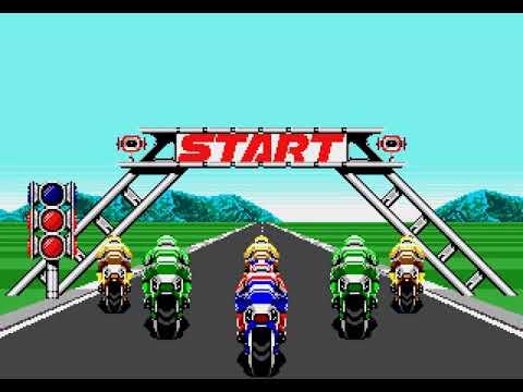 Super Hang-On Longplay (Mega Drive/Genesis) [60 FPS]