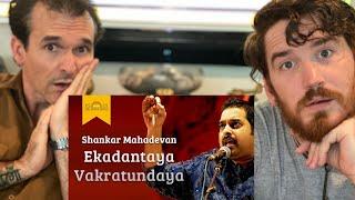 Ekadantaya Vakratundaya Gauri Tanaya REACTION!!  | Shankar Mahadevan