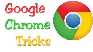 Google Chrome tricks - Google chrome Tips and Tricks