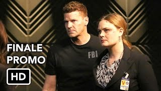 """Bones 12x12 Promo """"The End in the End"""" (HD) Series Finale"""