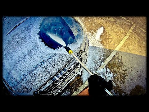 Audi A6 First Wash + Product Testing