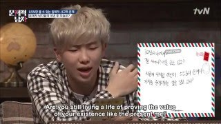 (ENG) Problematic Men - Rap Monster's Letter to His Future Self