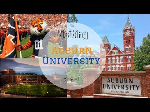 Vlog   College Visit   Auburn University