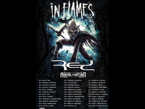 """In Flames announce fall North American headline tour + """"Follow Me"""" video debuts!"""