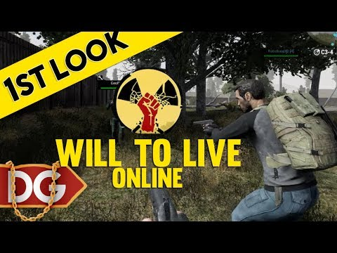 NEW VOIP SURVIVAL GAME - Will To Live Online - First Look At