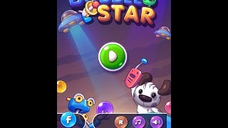 Bubble Star Saga - Gamplay iOS Universal - Very Addictive Game