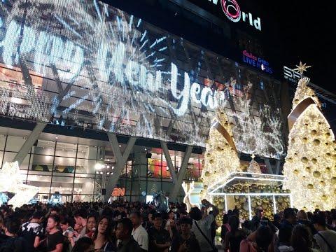 Central World Christmas Lights 2016 - Bangkok, Thailand