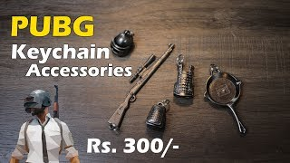 PUBG Keychain Accessories Souvenir Gift 5 in 1 Mini Metal Exquisite Rs. 300 approx