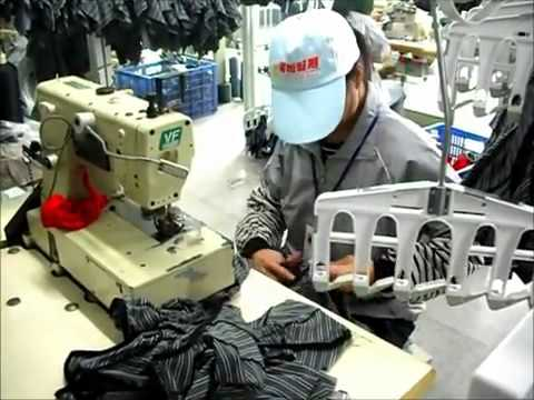 Smart MRT - Unit Production Hanger System - Under Garment
