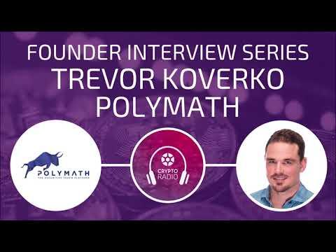 Trevor Koverko of Polymath: Making crypto regulatory friendly