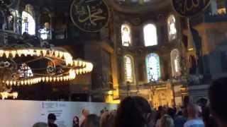 Турция Мечеть Айя-София Стамбул(Турция Мечеть Айя-София Стамбул 10.05.2015 через YouTube Объектив., 2016-05-23T09:29:37.000Z)