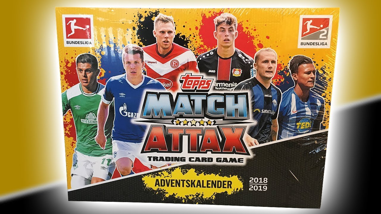Weihnachtskalender Schalke.Unboxing Topps Match Attax 2018 19 Advent Calendar
