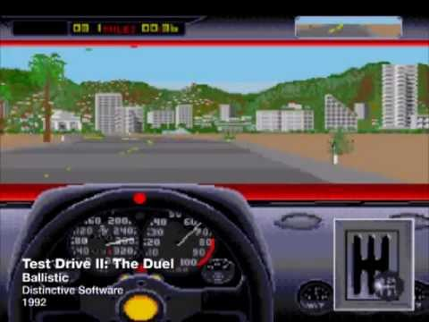 Sega Genesis Car Racing Games