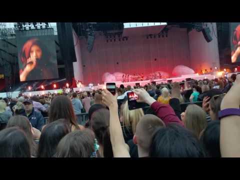 Rihanna anti world tour Glasgow