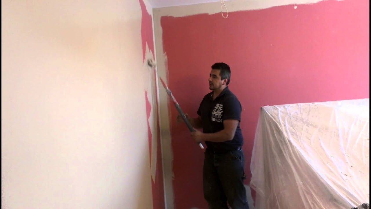 "Bild Auf Wand Malen Wall Paint ""over Strong Colors"" - Youtube"