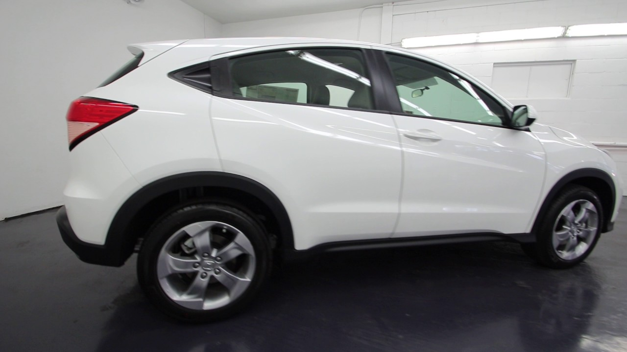 2016 Honda Hr V Lx White Orchid Pearl Gm757431 Seattle On
