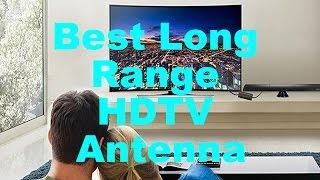 Best Amplified Indoor HDTV Antenna (65 Miles Long Range)