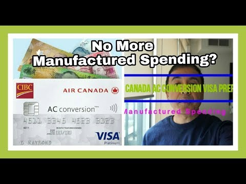 Manufactured Spending Canada >> Cibc Air Canada Ac Credit Card Seals Manufactured Spending Loophole