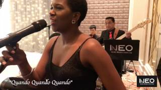 "Neo Music Production - ""Quando Quando"" Hong Kong Jazz Band Live Band - Aberdeen Marina Club"