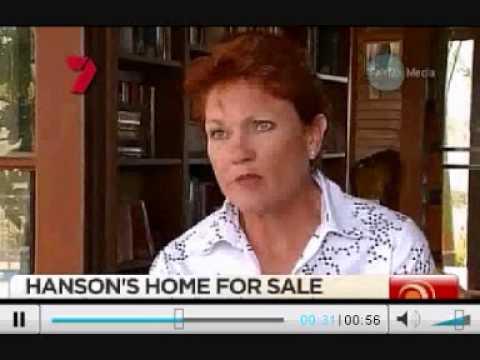 Pauline Hanson Won't Sell Her House To Muslim