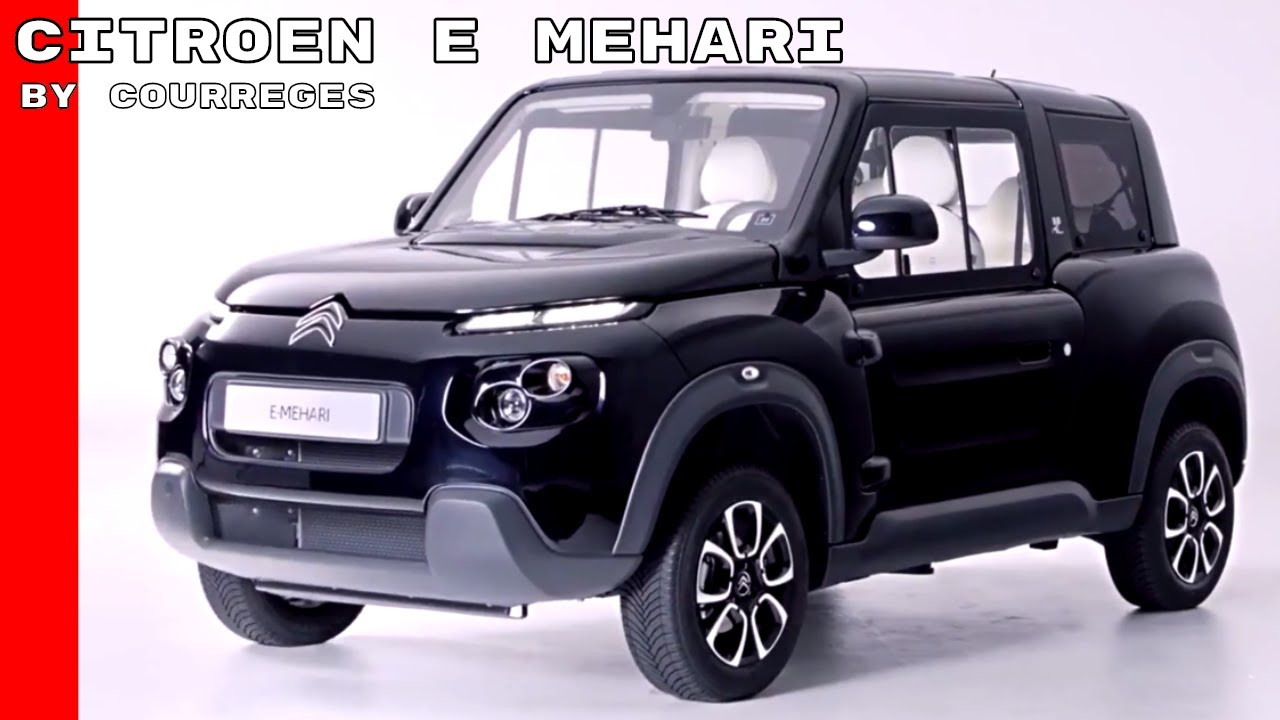 citroen e mehari by courreges youtube. Black Bedroom Furniture Sets. Home Design Ideas