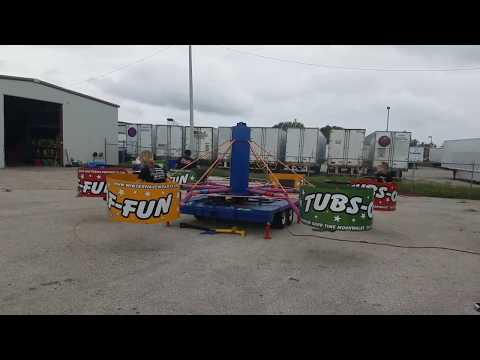 Tubs Of Fun Carnival Ride from A Bouncin Good Time Moonwalks