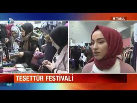 681281dd8c89f İstanbul'da tesettür festivali ! - YouTube
