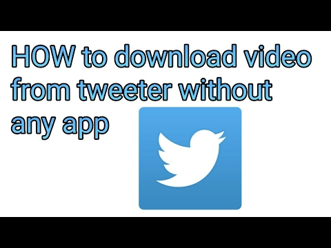 How To Download Twitter Videos | Without Any App Or Apps