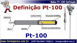 Curso Pt100 Mod I - Termorresistência Pt-100, Definição Bulbo Cerâmico, Vidro e Filme