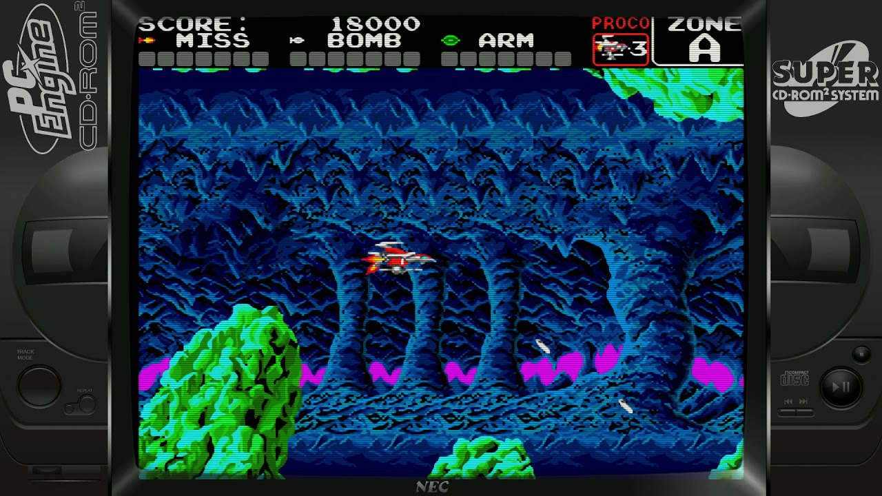 Super Darius (NEC PC-Engine Duo)