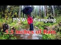 Overnight Hiking in Heavy Rain | Off-Season Olympic Camping Trip