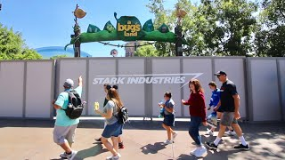 What's Changing At Disneyland Resort ? Construction Update - Bugs Land / Space Mountain / Matterhorn