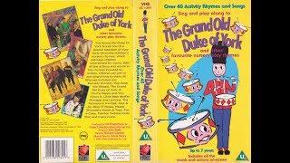 The Grand Old Duke of York 1994 UK VHS