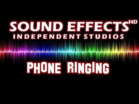 SFX - SOUND EFFECT: PHONE RINGING - TELEFON KLINGELN
