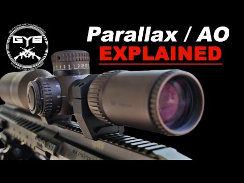 Scope Parallax Adjustment.WHAT IS IT?