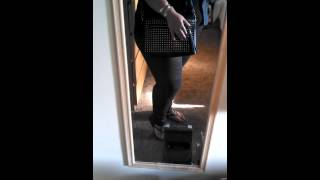 Black and Gold Plus Size OOTD Thumbnail