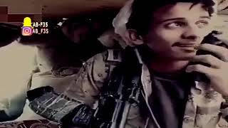 يمني يقول بيت شعر حزين في قلب المعركة عبر الاسلكي 💔 %لاتنسى الاشتراك ❤