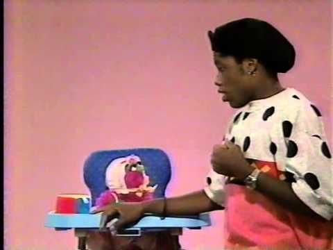 Kadeem Hardison on Sesame Street