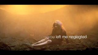 Christina Aguilera - You lost me + lyrics on screen.