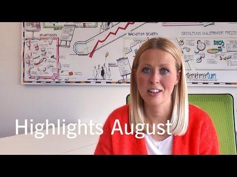 Deutsche Börse Venture Network highlights August 2017
