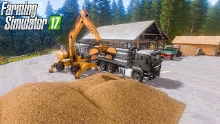 Making and selling wood chips | UTH 17 Forestry | Farming Simulator 2017 | Episode 24