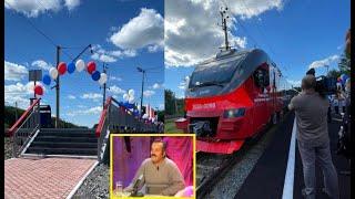 Под Новосибирском торжественно открыли ж\д станцию для гномов
